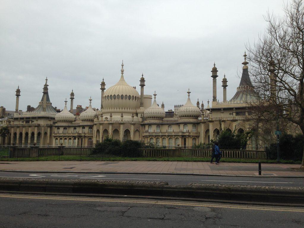Indický pavilón v Brightonu